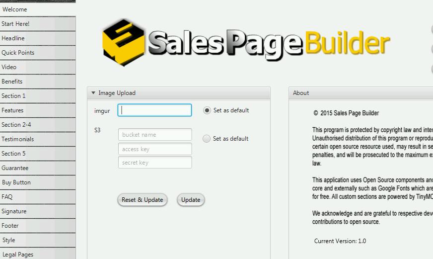 Sales Page Builder Pro 2016 1.0