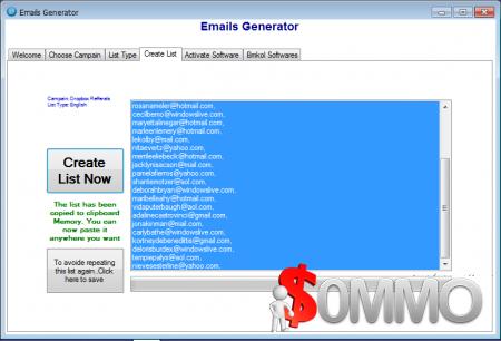 Emails Generator 15.11.11.0