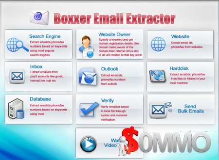 Boxxer Email Extractor 3.44