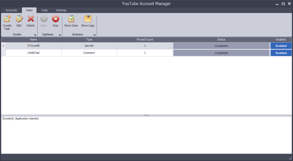 YouTube Account Manager 4.52
