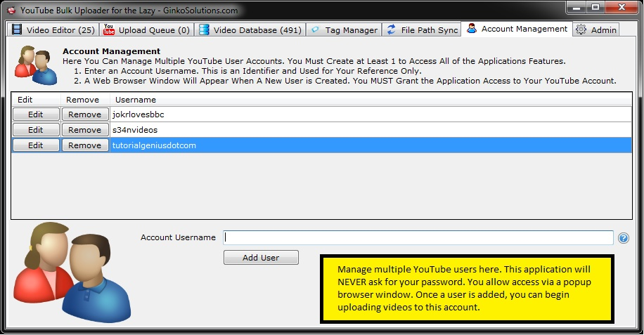 YouTube Bulk Uploader 4Lazy 3.0