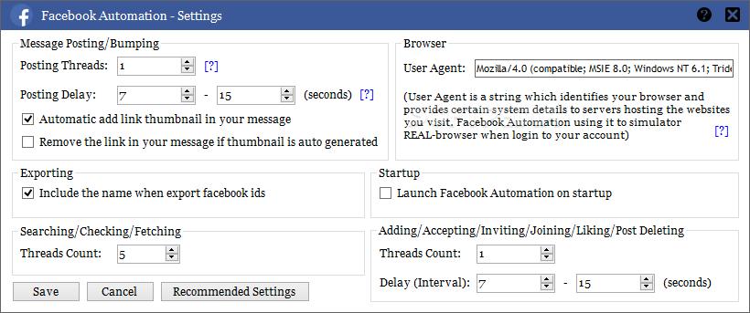 Facebook Automation 6.3 Premium