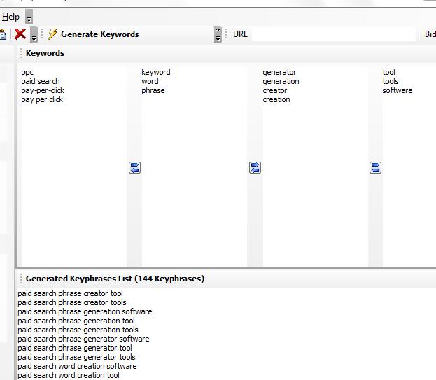 PPC Keyword Generator 1.0