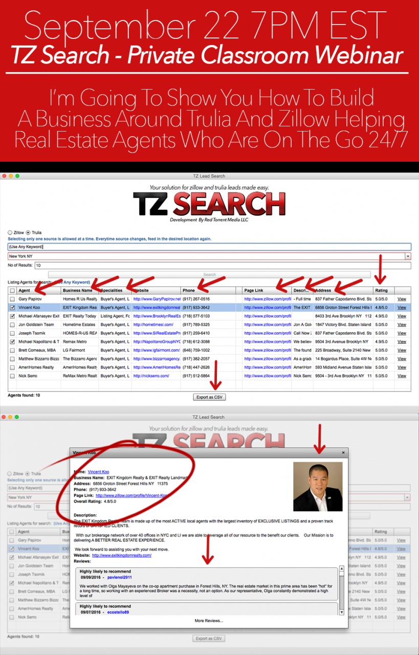TZ Search 0.3.0