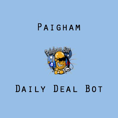 Paigham Daily Deal Bot 2.0.1.1