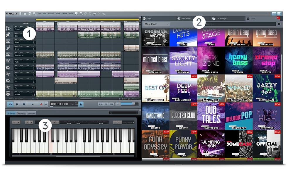 MAGIX Music Maker Premium 2017 24.0.2.46