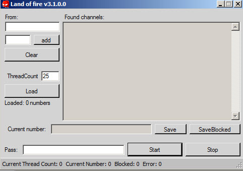 Land Of Fire Channel Finder 3.1 & Rehasher V2
