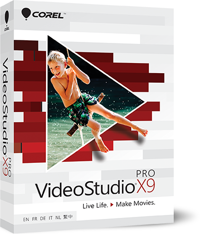 Corel VideoStudio Pro X9.5 19.6.0.1 Ultimate
