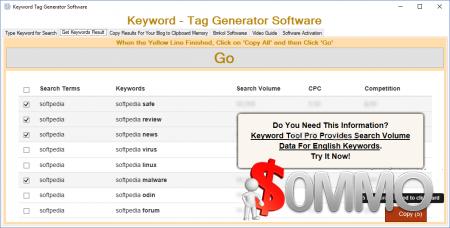 Keyword – Tag Generator 16.07.13