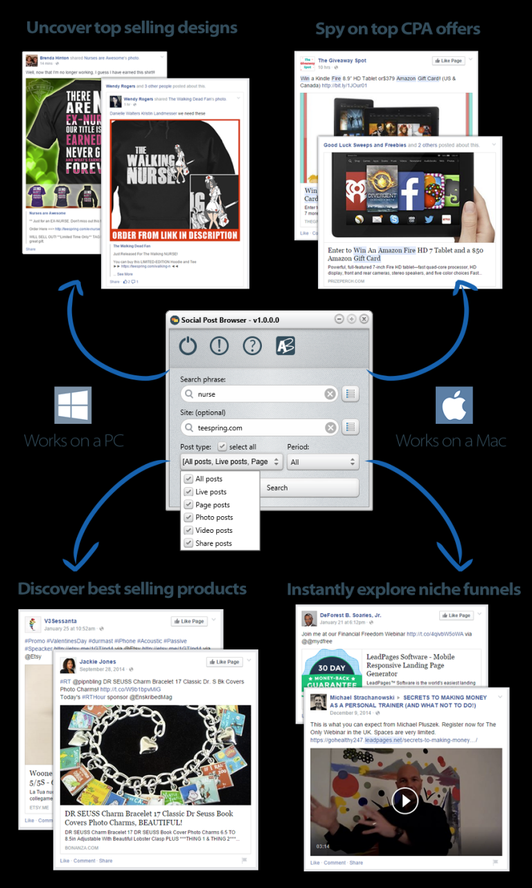 Social Post Browser v1.0.0.0