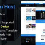 Hostix – Responsive Parallax Hosting Website HTML5 Template (RTL Included) by themeix Menu Cart