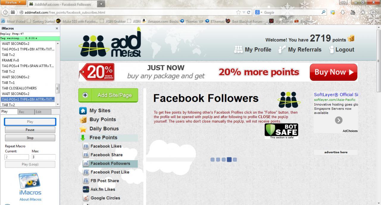 GET] Pinterest iMacros Bots (Pin, Scrape, Follow & more !) – Free