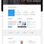 CONQUEST – Multipurpose Business Website Template PSD by ambidextrousbd Menu Cart