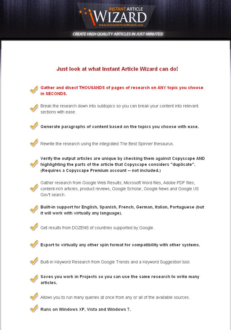 instant posting wizard seasoned 2 Thirty four download