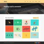 Rufio Free Homepage PSD