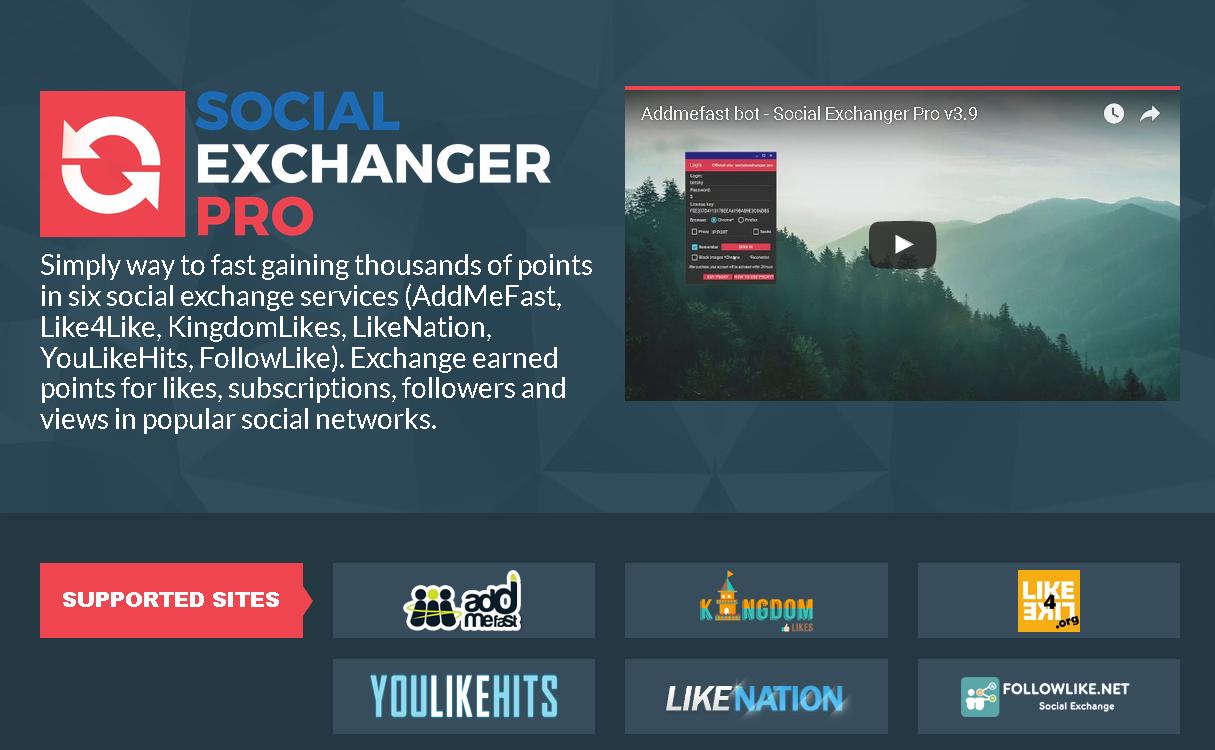 GET] Social Exchanger Pro 4 2 1 Cracked – AddMeFast