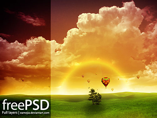Amanecer Free PSD