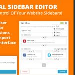 [Get] Visual Sidebar Editor for WordPress v1.0.2