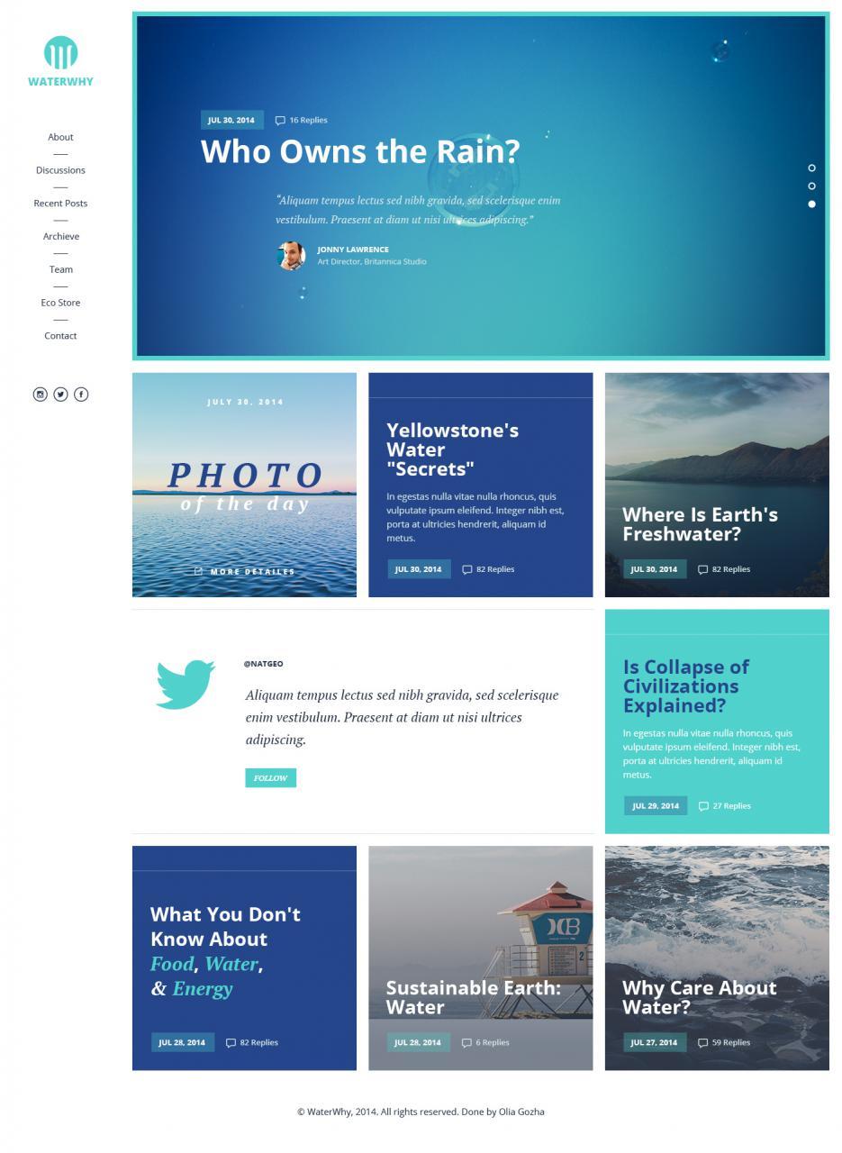 Clean Corporate Website Template