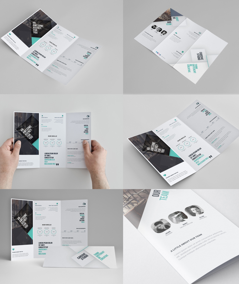 Brochure Templates Free Download  Microsoft Tri Fold Brochure Template Free