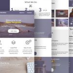 Creative Agency Newsletter Template Free PSD