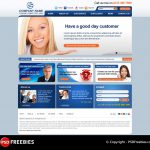 Creative Template for Corporate Websites PSD