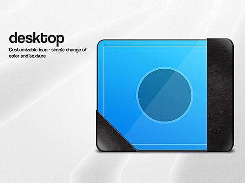 Desktop Icon Graphic PSD L