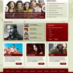 Entertainment Live Template Free PSD