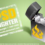 Free PSD lighter