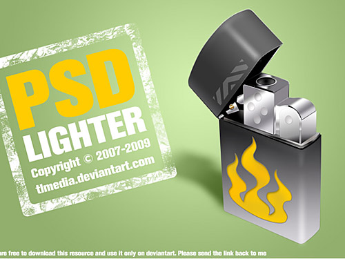 Free PSD Lighter L