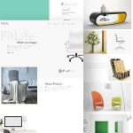 Furniture Store eCommerce Website template PSD