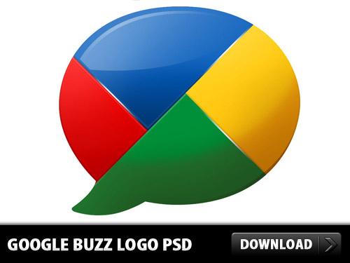 Google Buzz Logo PSD L