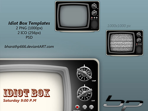 Idiot Box TV Templates L