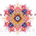 Kaleidoscope Background Generator PSD