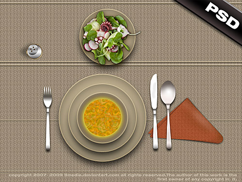 Lunch Table PSD L