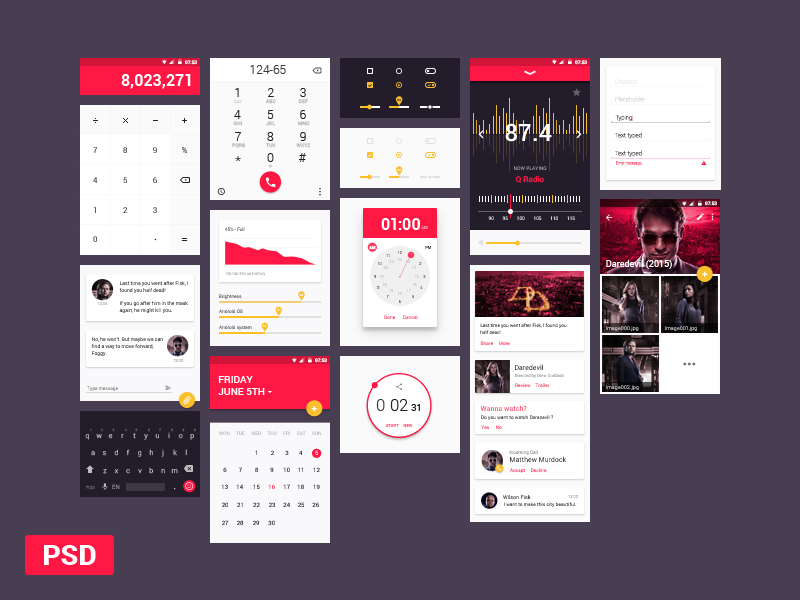 Premium Design Components UI Kit PSD – Free Cracked Nulled