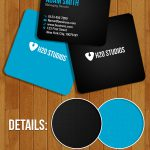 Mini Business Cards Free PSD