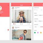 Minimalistic Ecommerce App UI Kit Free PSD