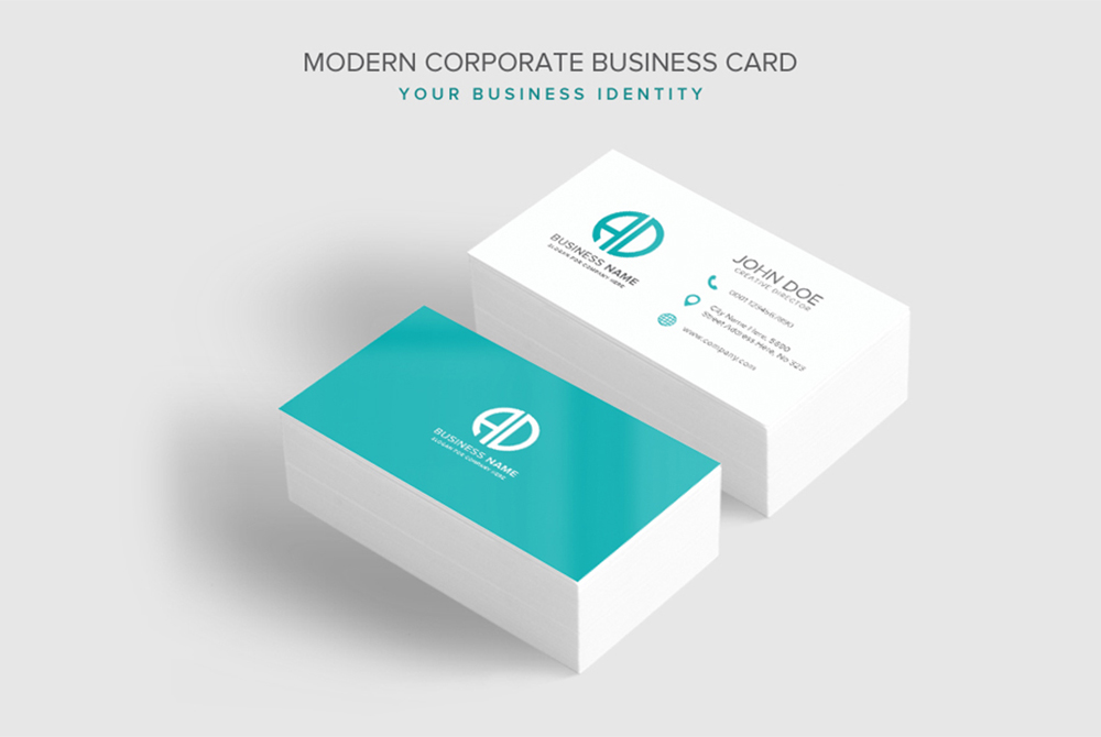 modern corporate business card psd template free cracked nulled seo softwares. Black Bedroom Furniture Sets. Home Design Ideas