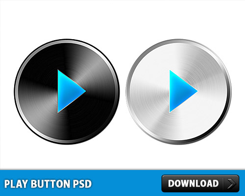 Play Button PSD L