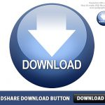 Rapidshare Download Free Button PSD