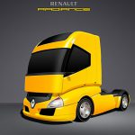 Renault Radiance Truck PSD