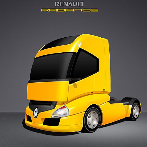 Renault Radiance Truck PSD L