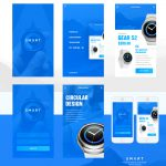Smart Watch Mobile App Screen Free PSD