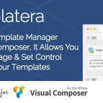 [Get] Templatera v1.1.11 – Template Manager for Visual Composer