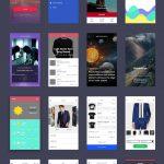 The Minimalist UI Kit Free PSD