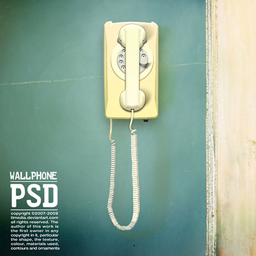 Wallphone PSD L