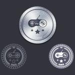 Metal Badge Free PSD