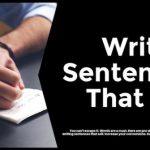 Writing Sentences That Sell