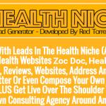 [GET] HEALTH NICHE Lead Generator